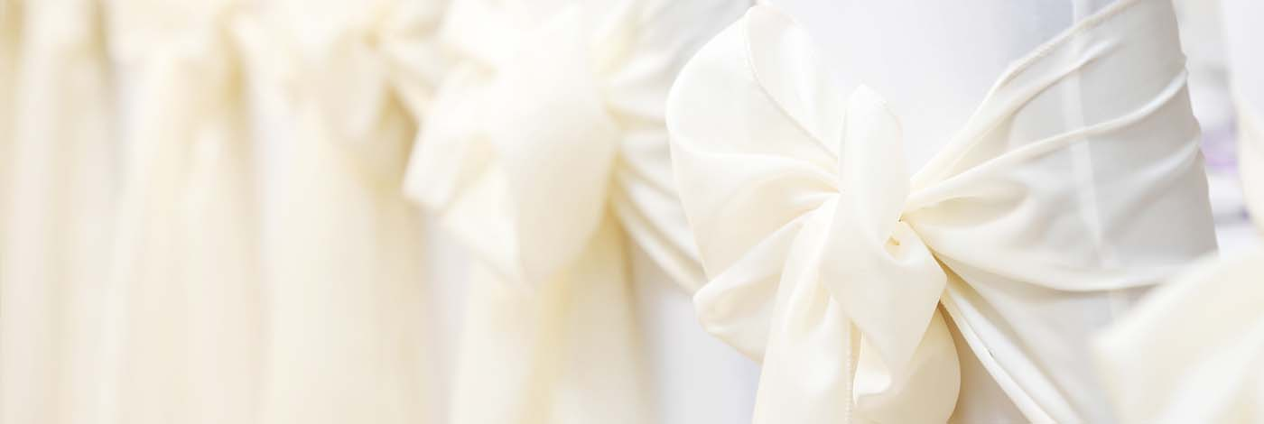 Elite Linen Hire - Chair Cover Sash Hire
